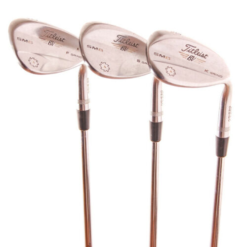 Titleist Vokey SM6 wedges, rechtshandig *in prima staat*